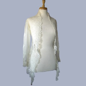 victorian lace blouse art deco-the remix vintage fashion