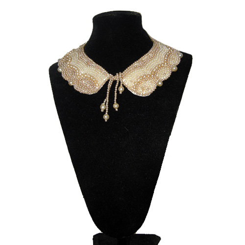 pearl collar japan-the remix vintage fashion