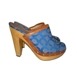 coach bacall clog-the remix vintage fashion