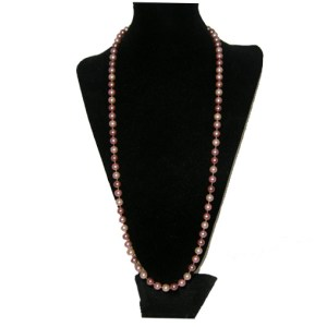pink cultured pearls-the remix vintage fashion