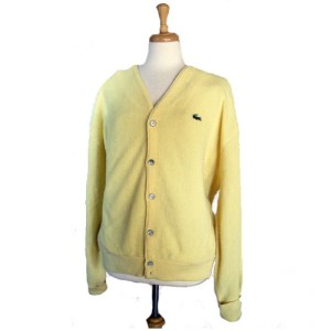 izod lacoste cardigan-the remix vintage fashion