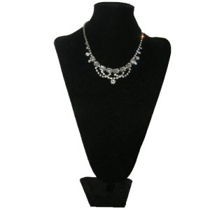 diamante necklace-the remix vintage fashion
