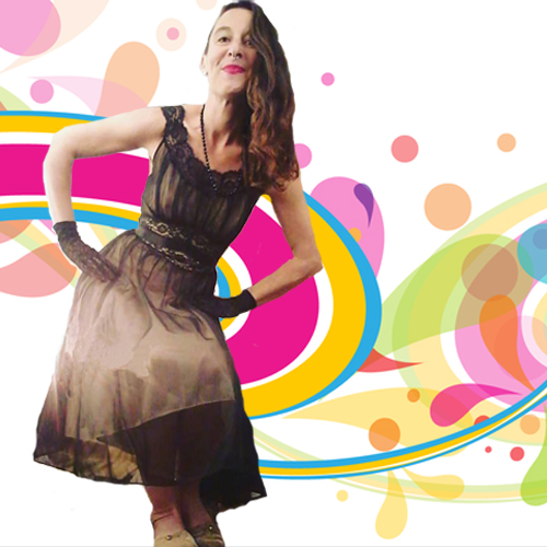 vanity fair negligee black mod-the remix vintage fashion