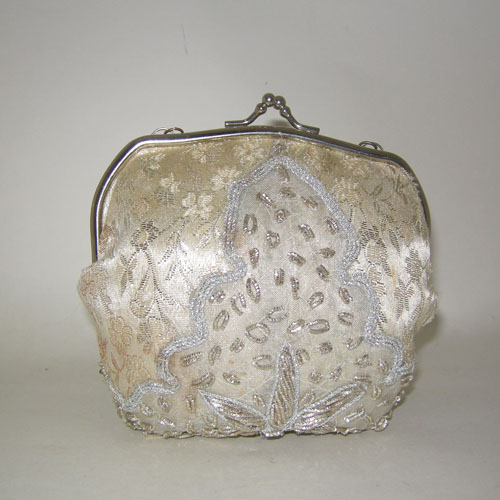 upcycle brocade purse-the remix vintage fashion