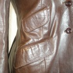 Beged-or leather jacket-the remix vintage fashion