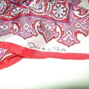 oscar de la renta scarf-the remix vintage fashion