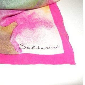 saldarini silk scarf-the remix vintage fashion