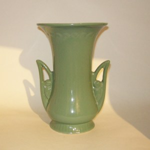 abingdon usa green vase art pottery-the remix vintage fashion