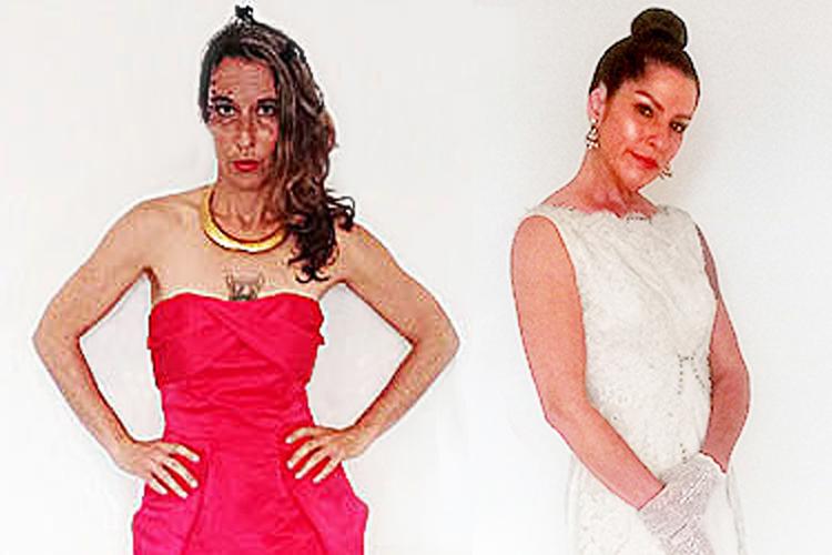 dress for a formal bridal-the remix vintage fashion