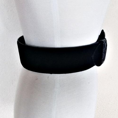 80s Liz Claiborne Belt Wide Suede Leather Buckle-the remix vintage fashion