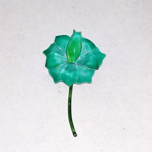 flower pin original by robert green enamel mod 60s-the remix vintage fashion