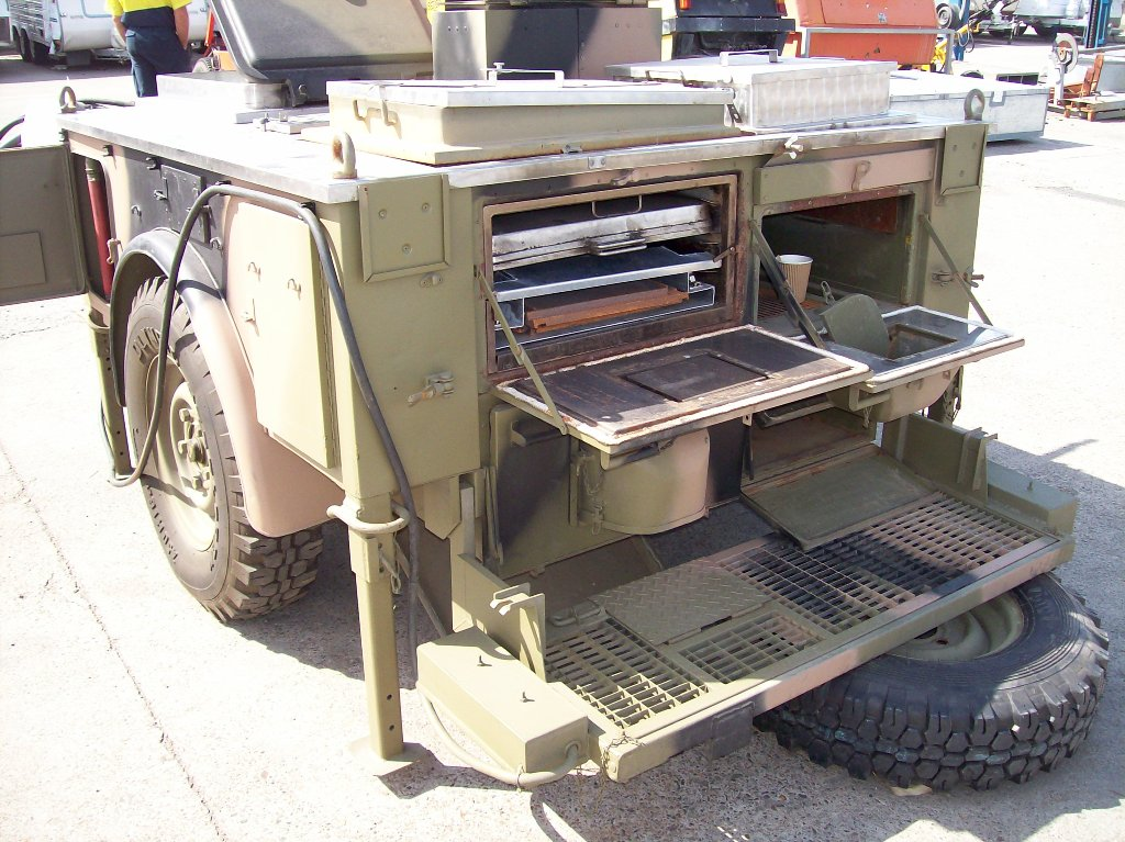 kitchen trailer diy outdoor kitchens australian military trailers for land rovers mobile field remlr