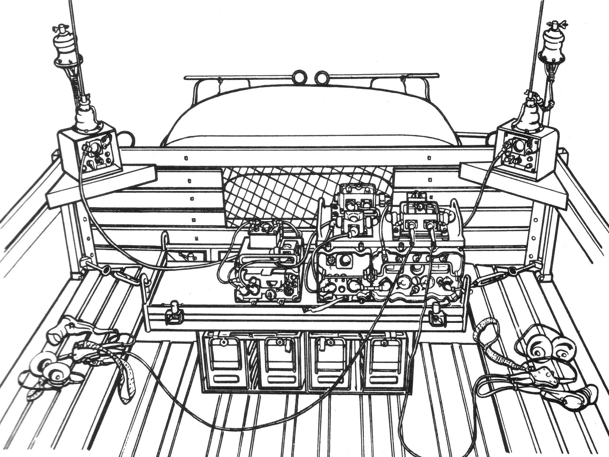 Australian Army Radio Gear For B Class Vehicles Remlr
