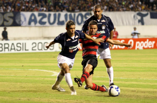 Remo encarou o Famengo (RJ) na Copa do Brasil de 2009