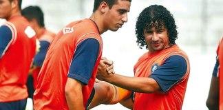 Thiago Galhardo e Clebson