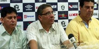 Maurício Bororó, Sérgio Cabeça e Zeca Pirão
