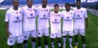 Remo Sub-20, com William, Gabriel, Guilherme, Marquinhos, Silvio e Rodrigo