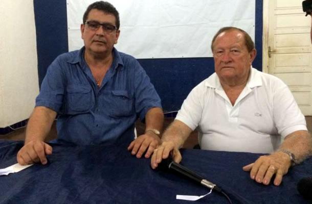 Antônio Carlos Teixeira (Tonhão) e Manoel Ribeiro
