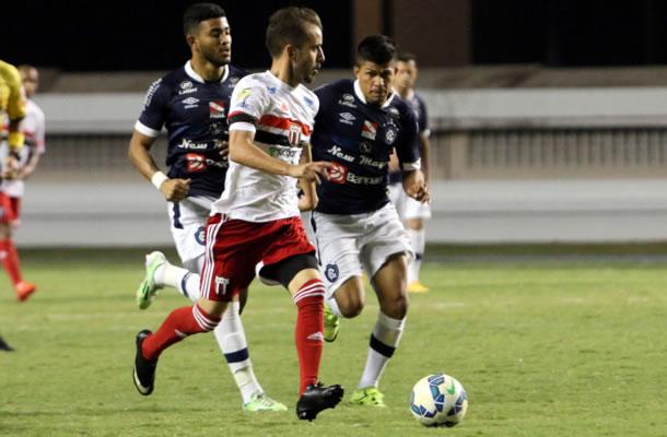 Remo 0x0 Botafogo-SP (Mateus Muller e Ilaílson)
