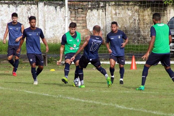Marcelo, Gustavo, Ruan, Everton, Elielton e Moisés