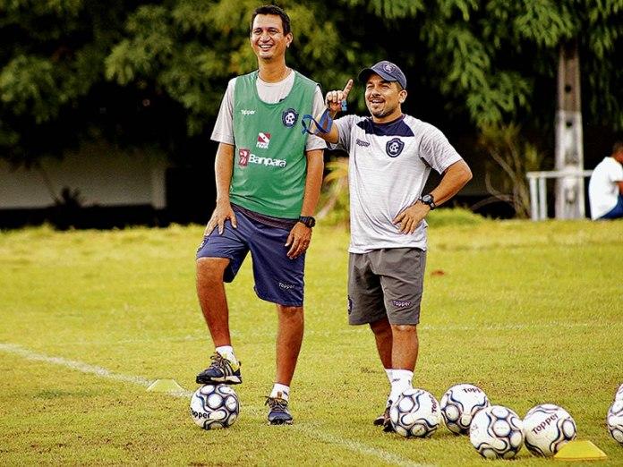 João Nasser Neto (Netão) e Robson Melo