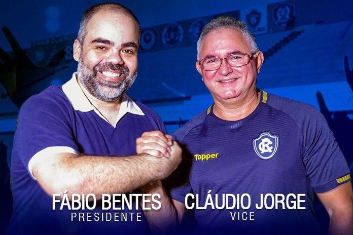 Fábio Bentes e Cláudio Jorge