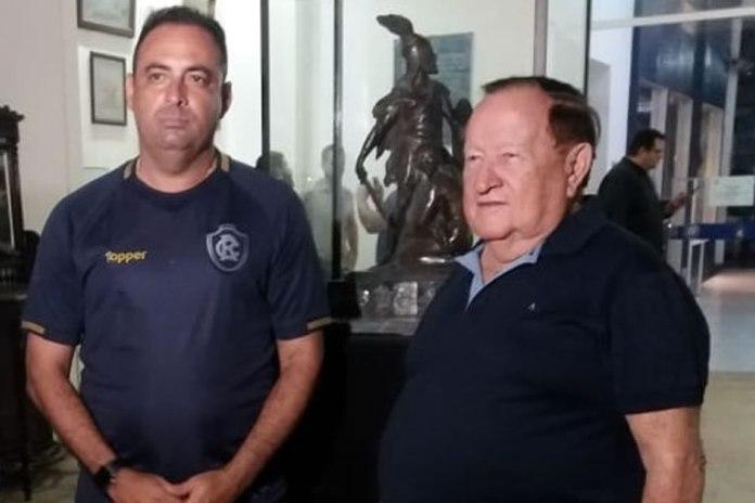 Hilton Benigno e Manoel Ribeiro
