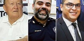 "Manoel Ribeiro, Fábio Bentes e Marco Antônio Pina ""Magnata"""