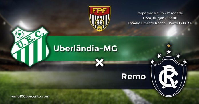 Uberlândia-MG × Remo