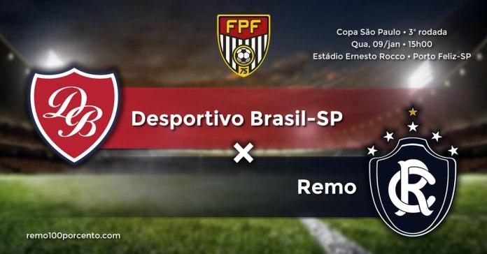 Desportivo Brasil-SP × Remo
