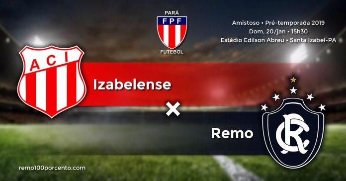 Izabelense × Remo