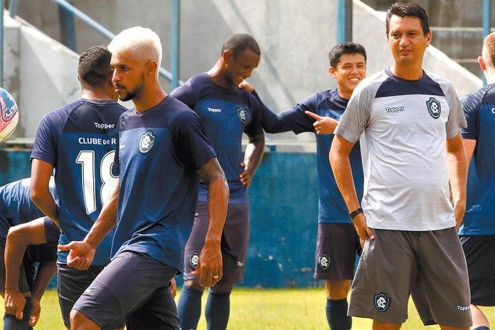 Gustavo Ramos, Mimica, Echeverría e João Nasser Neto (Netão)