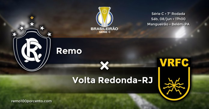 Remo × Volta Redonda-RJ