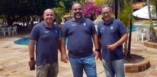 Dirson Neto, Fábio Bentes e Carlos Kila