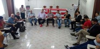 Reunião na FPF