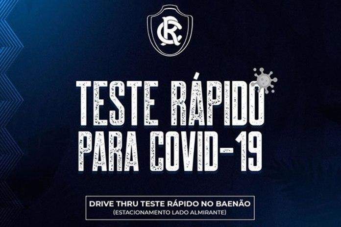 Teste rápido para Covid-19