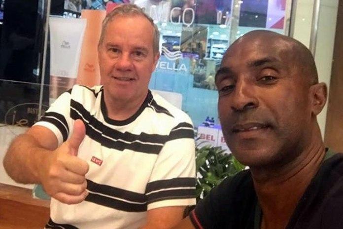 Paulo Bonamigo e Robinho