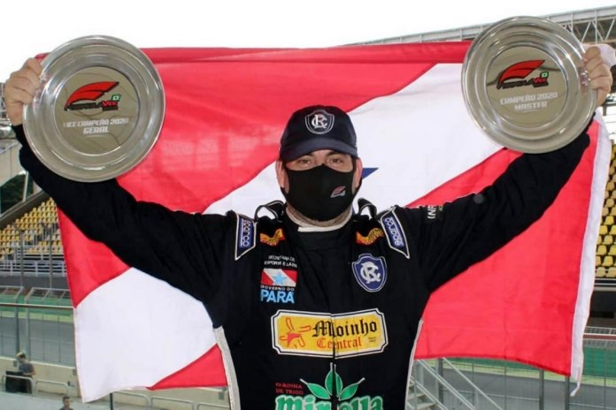 Piloto paraense conquista título no automobilismo