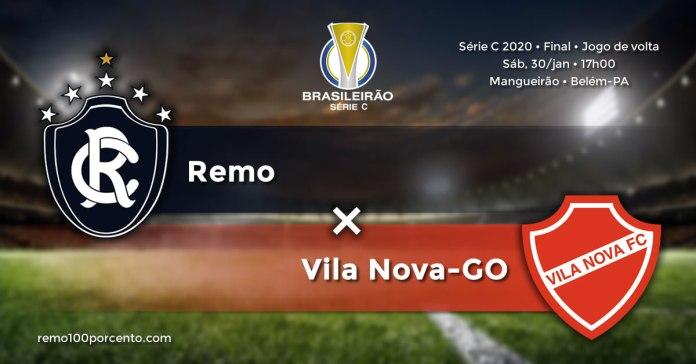 Remo × Vila Nova-GO