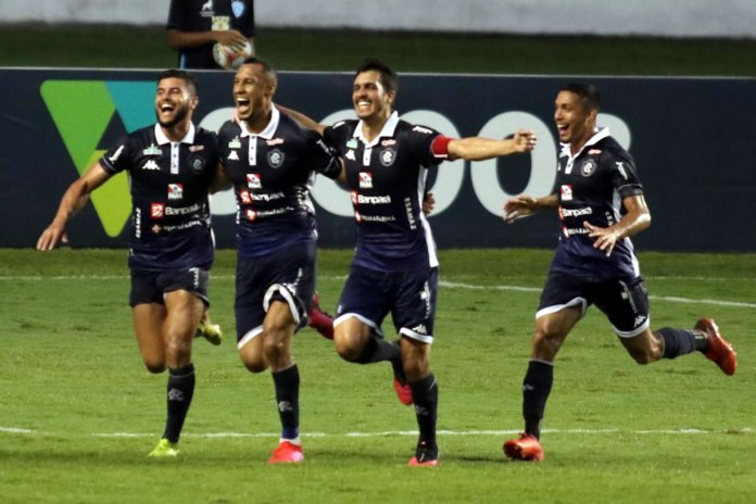 Paysandu 0×1 Remo (Tcharlles, Salatiel, Lucas Siqueira e Hélio Borges)