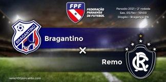 Bragantino × Remo