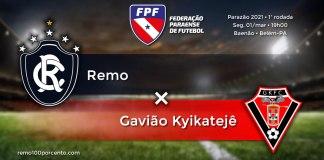 Remo × Gavião Kyikatejê