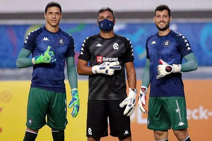Vinícius, Juninho Macaé e Thiago Rodrigues