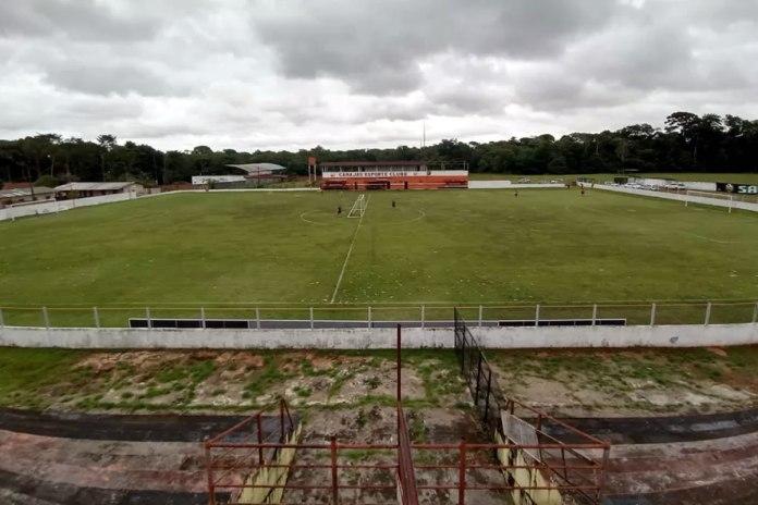 Estádio Mamazão (Outeiro/Belém)