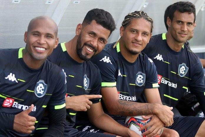 Wellington Silva, Marlon, Felipe Gedoz e Rafael Jansen