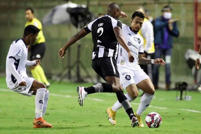 Botafogo-RJ 3×0 Remo (Dioguinho e Rafinha)
