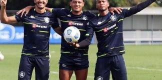 Lucas Siqueira, Felipe Gedoz e Wellington Silva