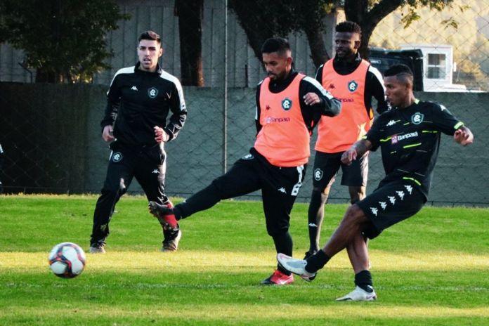 Thiago Ennes, Wallace, Erick Flores e Dioguinho