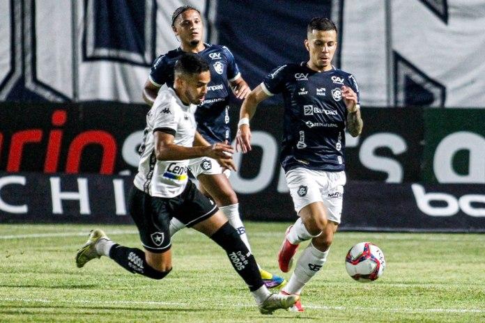 Remo 0×1 Botafogo-RJ (Felipe Gedoz e Matheus Oliveira)