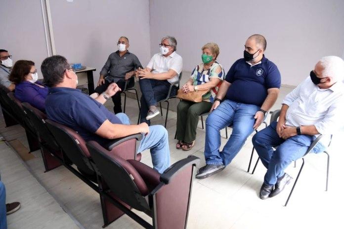 Reunião entre a Prefeitura de Belém e os clubes da capital
